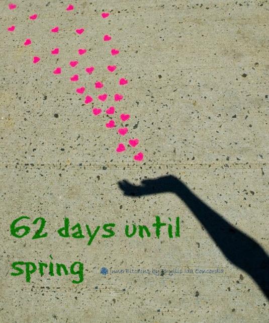 62 Days Until Spring